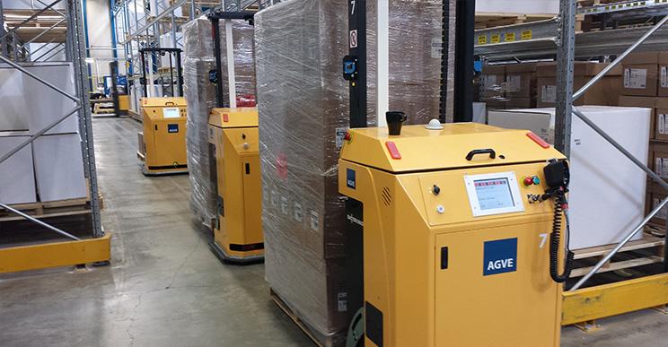 AGV для склада